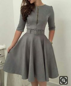 Simple Dresses, Elegant Dresses, Vintage Dresses, Casual Dresses, Short Dresses, Pretty Outfits, Pretty Dresses, Stylish Outfits, I Dress