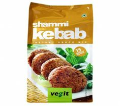 Vegit Shammi Kebab Instant Snack Mix 120G at Rs.50 online in India.