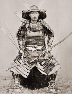 Samurai, Nagasaki, Japan, c 1890. Photographer: Ueno Hikoma