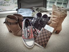 Need packing advice?  Travel Shoes on andivance.com