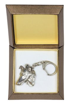 NEW Collie Smooth Haired dog keyring key by ArtDogshopcenter