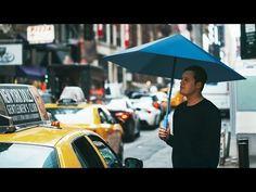 """Origami-influenced Sa umbrella """"bounces back into shape"""""""