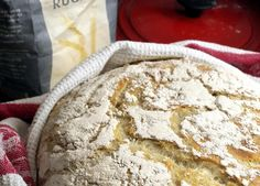 ELTEFRITT: Fristende, nybakt landbrød - helt uten å elte deigen. Bread, Kitchen, Recipes, Food, Cooking, Brot, Kitchens, Essen, Cucina