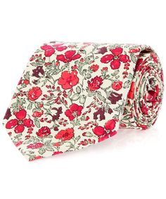 Liberty London Collections Meadow Liberty Print Cotton Tie