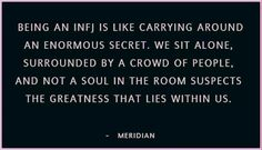 """""""Being an INFJ""""...not to sound pretentious, but..."""