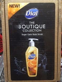 Punkin's Place: NEW!!  Dial Sugar Cane Husk Scrub Hand Soap