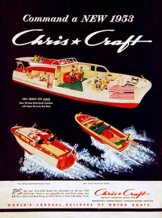 Chris Craft - http://iinecheck-in.com/listings/category/crafts/