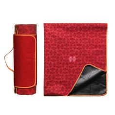 Koc piknikowy nieprzemakalny Sagaform Picnic, czerwony
