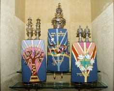 Torah covers and crowns