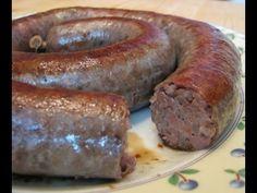 Домашняя колбаса с куриной печенью и гречкой