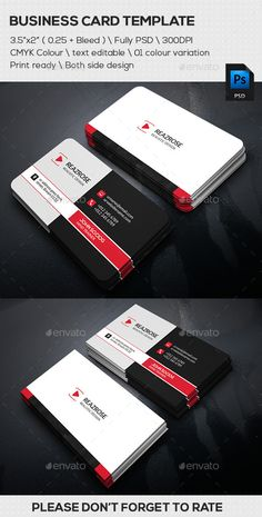 Creative Corporate Business Card Template #design #print Download: http://graphicriver.net/item/creative-corporate-business-card/11929605?ref=ksioks