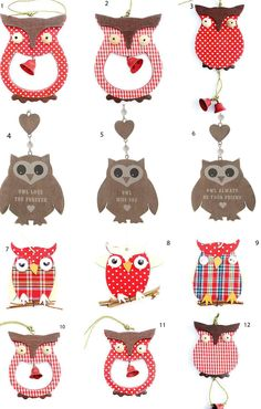 NEW Hanging OWL Heart Decoration Owls Home Decoration Gift FOR A Friend | eBay