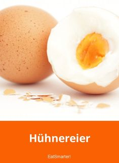 Hühnereier | eatsmarter.de Yams, Superfoods, Healthy Eating, Breakfast, Desserts, Drink, Healthy Groceries, Healthy Snack Foods, Fruit And Veg