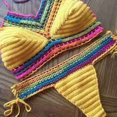 As peças são produzidas do seu jeitinho, cor, tamanho, modelo, bojo... #biquini #crochet #moda #top #biquine... - duda.croche via Instagram on Feb 28, 2015