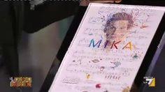 LA7.TV Video1 - Mika riceve il disco di Platino
