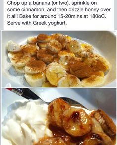 Healthy Banana snack!
