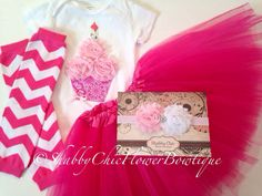 Hey, I found this really awesome Etsy listing at https://www.etsy.com/listing/181582622/shabby-chic-cupcake-birthday-girl-outfit