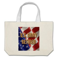 Army Retired Tote