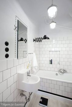 Łazienka do odgapienia, raz/ A bathroom worth oggling the idea, one