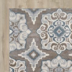 Found it at AllModern - Natural Taupe Area Rug