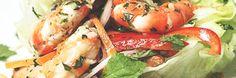 Insalatina thailandese con gamberi e cetrioli... http://www.ibiscusgadget.it/insalatina-thailandese/