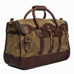 Overland Luggage on the Craft and Caro list http://everymanmusthave.com/just-added-frost-river-luggage/