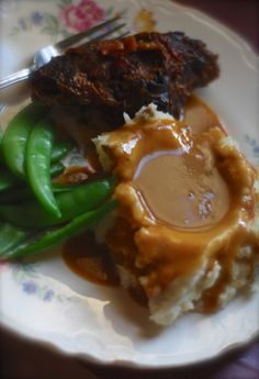 Bacon and Ale Roast Beef with Homemade Gravy