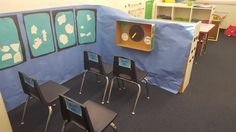 Turn dramatic play into a pretend airport