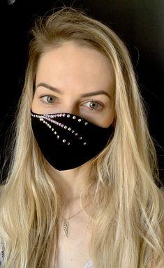 Mouth Mask Fashion, Fashion Face Mask, Easy Face Masks, Diy Face Mask, Bridal Mask, Diy Mask, Mask Design, Mask For Kids, Ideias Fashion