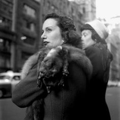Streets of NY by Vivian Maier. 1940s.