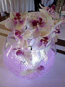 d coration florale de table photo table d coration de table mariage orchid e mariage. Black Bedroom Furniture Sets. Home Design Ideas