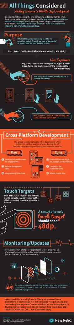 Cómo encontrar el éxito en el desarrollo de APPs #infografia #infographic #software