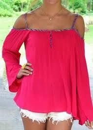 Resultado de imagen para patron de blusa manga larga sin hombros