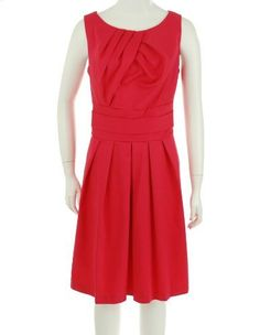 Madison Leigh Pleated Dress Watermelon Pink 10  Madison , http://www.amazon.com/dp/B0077SMO6G/ref=cm_sw_r_pi_dp_ycnFpb0Z4PCN3