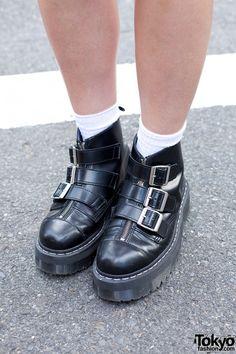 Agyness Deyn x Dr Martens boots