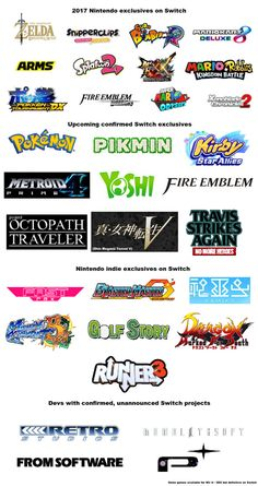 Nintendo are KILLING it this year! Can't wait to find out what else they are releasing in 2018!