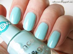 Cotton Candy | by Tasja: Fun pastel nails: bright yellow and baby blue nails