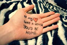 If my hear was a house, you'd be home <3 Owl city
