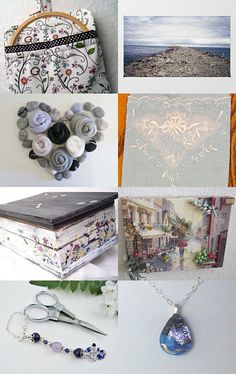 Soft colors by Rosemarie on Etsy--Pinned with TreasuryPin.com