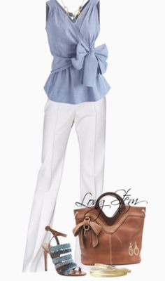 White pants outfits – how to style white pants Weiße Hosen-Outfits – So stylen Sie weiße Hosen Classy Outfits, Chic Outfits, Spring Outfits, Fashion Outfits, Womens Fashion, Fashion Trends, Work Outfits, Office Outfits, Dress Outfits
