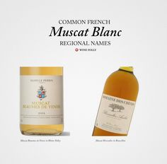 Common names of French Muscat/Moscato http://winefolly.com/review/french-white-wines/