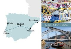 A one-week rail trip itinerary in Spain and Portugal