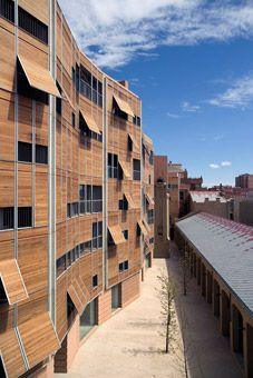 Duccio Malagamba Fotografia de Arquitectura. Conjunto de Viviendas 'Vapor Sant Pere' - Rafael MONEO>