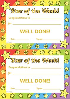 Free Printable Student Of the Month Certificate Templates Luxury Twinkl Resources Star Of the Day Poster Classroom Classroom Organisation, Classroom Rules, Classroom Management, Award Certificates, Certificate Templates, Printable Certificates, Preschool Certificates, Blank Certificate, School Resources