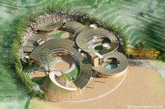 Students Design a Mushroom-Inspired Campus with Earth-Air Tunnels for Vietnam | Inhabitat - Sustainable Design Innovation, Eco Architecture,...