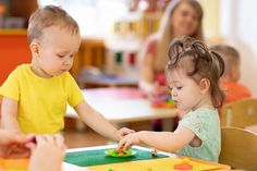 Kids group making arts and crafts in kindergarten. Children on lesson in day care centre - Buy this stock photo and explore similar images at Adobe Stock Mandala Art, In Kindergarten, Children, Kids, Centre, Adobe, Arts And Crafts, Design Ideas, Stock Photos