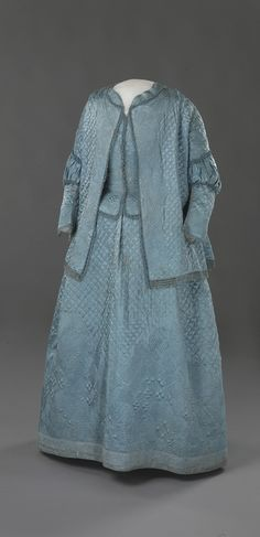 1720-1750 Dress, Nasjonalmuseet for Kunst, Arketektur og Design