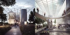 Bustler: AL_A, David Kohn, Allford Hall Monaghan Morris among UK Pavilion finalists for Milan Expo 2015
