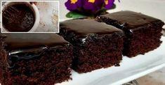 Ak zbožňujete čokoládové zákusky, tak tento recept si vytlačte a pripnite na chladničku: Je báječný! - Recepty od babky Nutella, Vegetarian Desserts, Gula, Food, Baking Ideas, Cake Ideas, Raspberries, Powdered Sugar, Easter Eggs