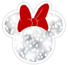 Sparkle Minnie Mouse sticker by My Heart Has Ears Mickey Mouse Christmas, Mickey Minnie Mouse, Mickey Ears, Disney Christmas, Christmas Crafts, Minnie Mouse Stickers, Disney Frames, Cute Christmas Wallpaper, Disney Clipart